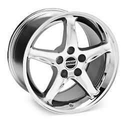Wheel Replicas COBRA R Chrome 18X9 5-114.3 Wheel