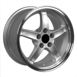 Wheel Replicas COBRA R Silver 18X9 5-114.3 Wheel
