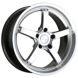 Ace CONCEPT-5 Hypersilver 17X8 5-114.3 Wheel