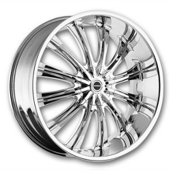 Strada CORONA Chrome 18X8 5-120 Wheel