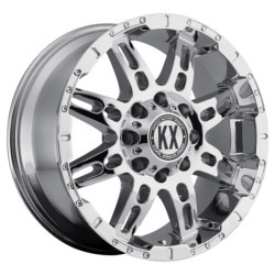 Katana KX-Series CP34 Chrome 18X9 6-139.7 Wheel