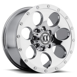 Katana KX-Series CP41 Chrome 20X9 8-165.1 Wheel