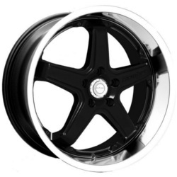 Katana Racing CR5 Black Machined Lip 18X8 4-114.3 Wheel