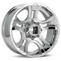 KMC-XD Series CRANK Chrome 17X9 5-139.7 Wheel