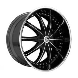Lexani CS-2 Flat Black 24X10 5-112 Wheel