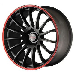 Tenzo-R Cuzco V.1 Black/Red 19X10 5-120 Wheel
