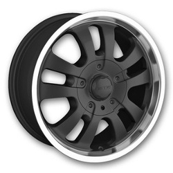 DIP D10 Black 17X8 6-135 Wheel