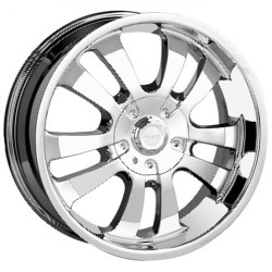 DIP D10 Chrome 17X8 5-127 Wheel
