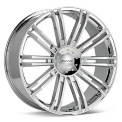 KMC D2 Chrome 22X10 5-120 Wheel