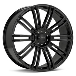 KMC D2 Gloss Black 22X10 6-135 Wheel