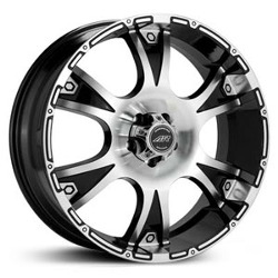 American Racing DAGGER Gloss Black Machined 20X9 8-180 Wheel