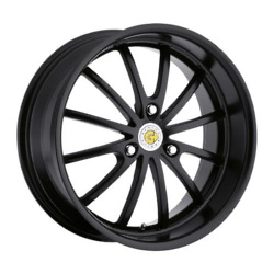 Genius DARWIN Matte Black 17X6 3-112 Wheel