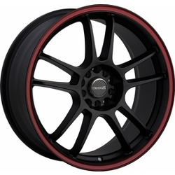 Tenzo-R DC-5 V.1 Black/Red 19X9 5-114.3 Wheel