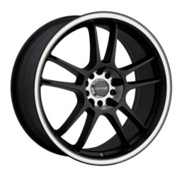 Tenzo-R DC-5 V.2 Black 17X7 5-100 Wheel