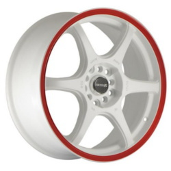 Tenzo-R DC-6 V.1 White/Red