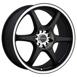 Tenzo-R DC-6 V.2 Black 16X7 4-114.3 Wheel