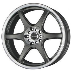 Tenzo-R DC-6 V.2 Charcoal 17X7 5-114.3 Wheel