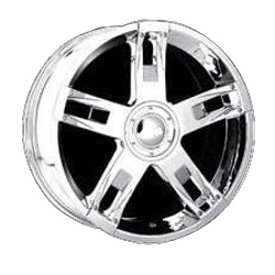 Dolce DC10 Chrome 22X10 5-115 Wheel