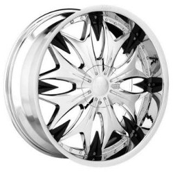 Dolce DC20 Chrome 22X10 6-139.7 Wheel