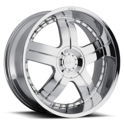 Dolce DC22 Chrome 20X9 6-139.7 Wheel