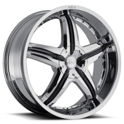 Dolce DC26 Chrome 20X8 5-135 Wheel