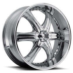 Dolce DC28 Chrome 24X10 5-139.7 Wheel