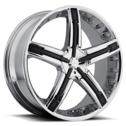Dolce DC30 Chrome 20X9 5-114.3 Wheel