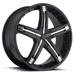 Dolce DC30 Matte Black 20X9 5-112 Wheel