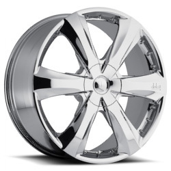 Dolce DC34 Chrome 22X9 5-114.3 Wheel