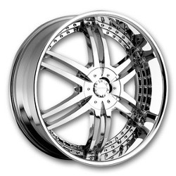 Strada DENARO Chrome 24X9 5-127 Wheel