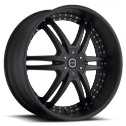 Strada DENARO Stealth Black 22X10 5-112 Wheel