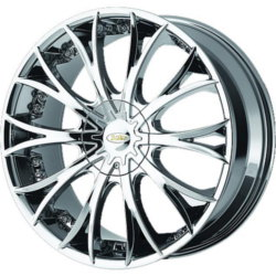 Diamo DI038 Bright Pvd 20X9 5-120 Wheel