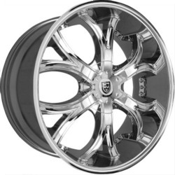 Lexani DIAL Chrome 22X10 5-112 Wheel