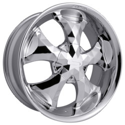 Strada DIAMANTE Chrome 20X9 6-135 Wheel