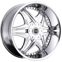 Strada DOLCE Chrome 22X10 6-135 Wheel