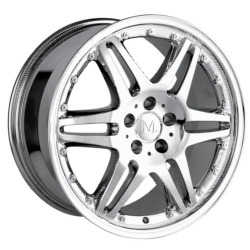Detroit DONATELLO Chrome Wheel