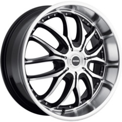 Dropstar DS41 Black 20X9 5-115 Wheel