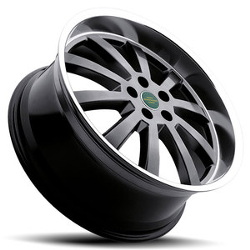 Redbourne DUKE Hyper Black Machine Lip 20X10 5-120 Wheel