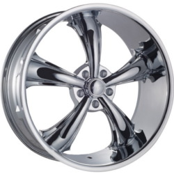 Dcenti DW19 Chrome 26X10 5-127 Wheel