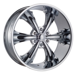 Dcenti DW19B Chrome 26X10 6-139.7 Wheel