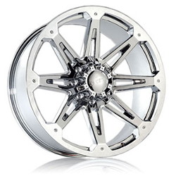 Dcenti DW901 Chrome 20X10 6-139.7 Wheel