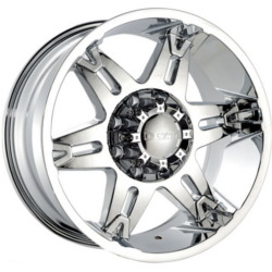 Dcenti DW902 Chrome 17X9 5-139.7 Wheel
