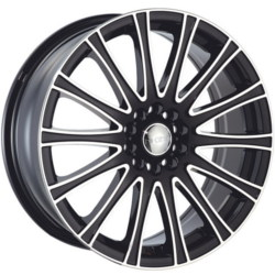 Dcenti DW905 Black Machined Face 18X8 5-100 Wheel