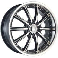 Dcenti DW906 Black Machined Face 17X7 5-100 Wheel