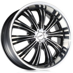 Dcenti DW909 Black Machined Face 22X10 6-135 Wheel