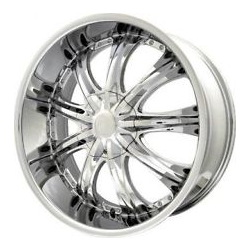 Dcenti DW909 Chrome 20X9 5-112 Wheel