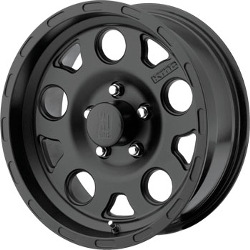 KMC-XD Series ENDURO Matte Black 17X9 8-165.1 Wheel