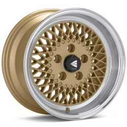 Enkei ENKEI92 Gold 15X7 4-114.3 Wheel