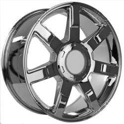 Wheel Replicas ESCALADE Chrome 20X9 6-139.7 Wheel
