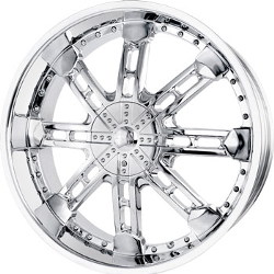 Mazzi ETERNAL Chrome 22X10 5-120 Wheel